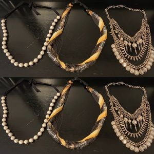 Bundle of 3 Statement Necklaces